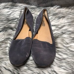 Charlotte Russe Size 9 Womens Flats Gray Loafers
